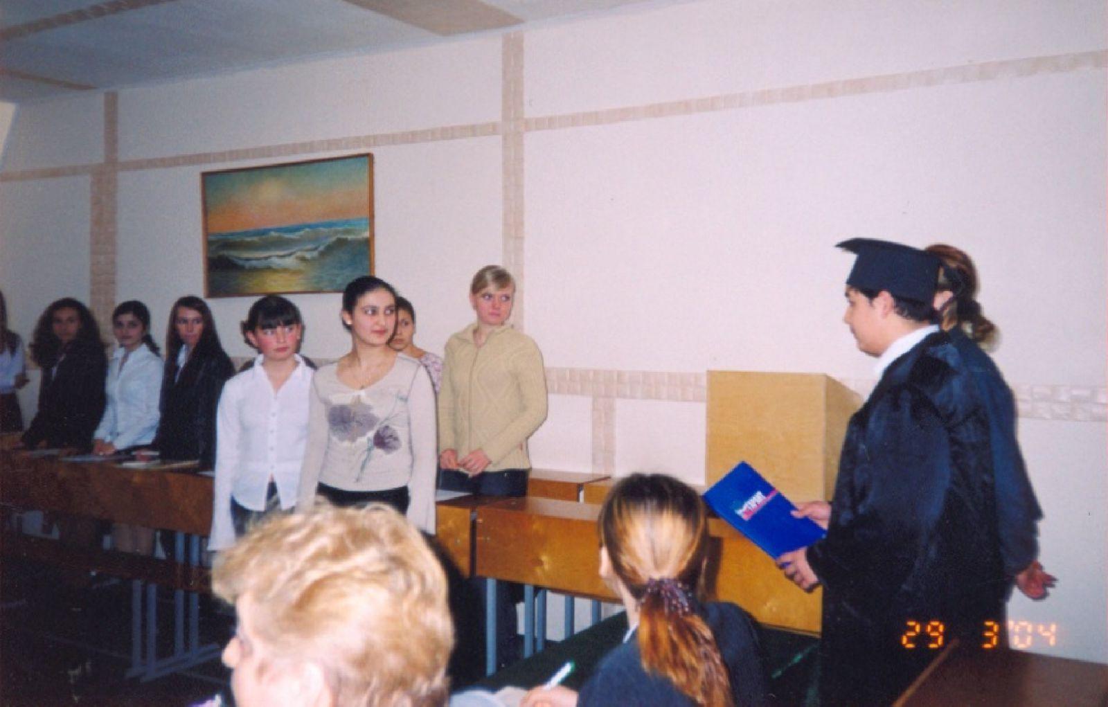 Где студенты выступили в роли судей